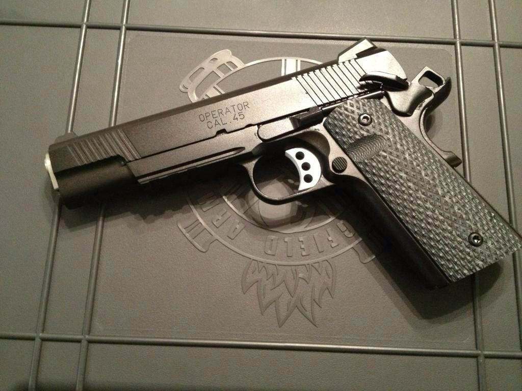 The rare and mythical Long Beach Operator by Springfield