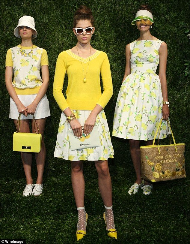 38f00d09bb9 Kate Spade travels to a perfectly polished Europe for  NYFW  SS14 ...