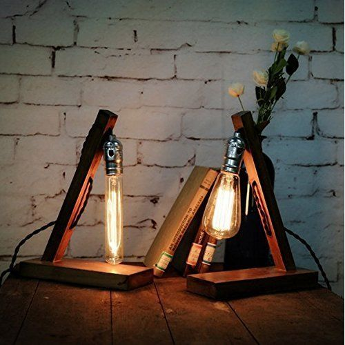 edison table lamp vintage home lighting. Loft Retro Wood E27 Edison Table Lamp Cafe Home Bar Decoration Edison Table Lamp Vintage Home Lighting D