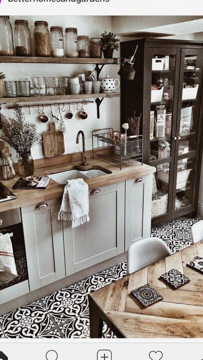K che Ideen Einrichtung Landhaus mit Holz wei Deko # ...