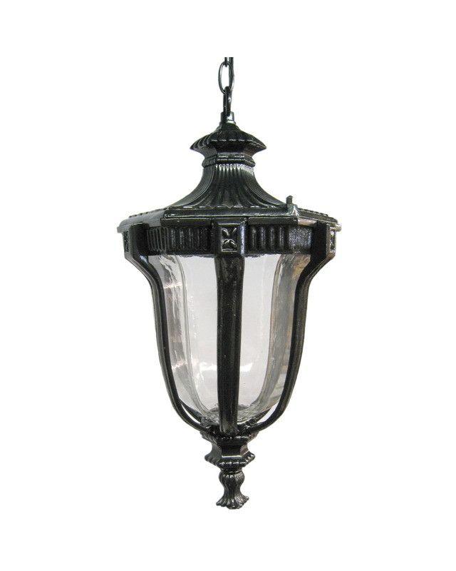 epiphany lighting 104922 bk cast aluminum outdoor exterior hanging