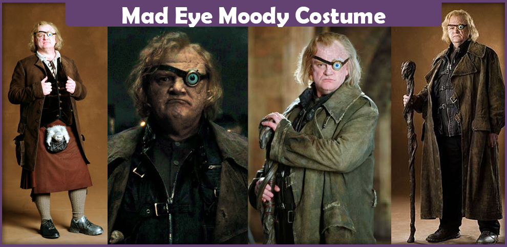 The Best Guide On Making A Mad Eye Moody Costume From Harry Potter Here You Will Find A List Of Everything You Will Need To Make An Acc Costumes Moody Cosplay