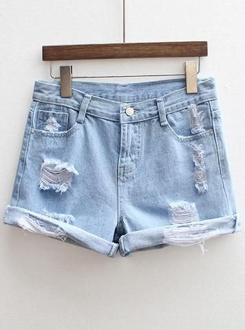 Cute -https://www.cooliyo.com/product/88155/blue-ripped-flange ...