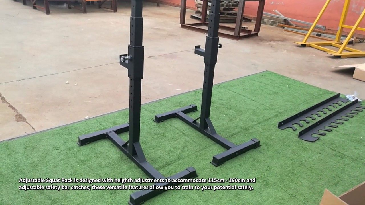 Adjustable Squat Rack Review Squat
