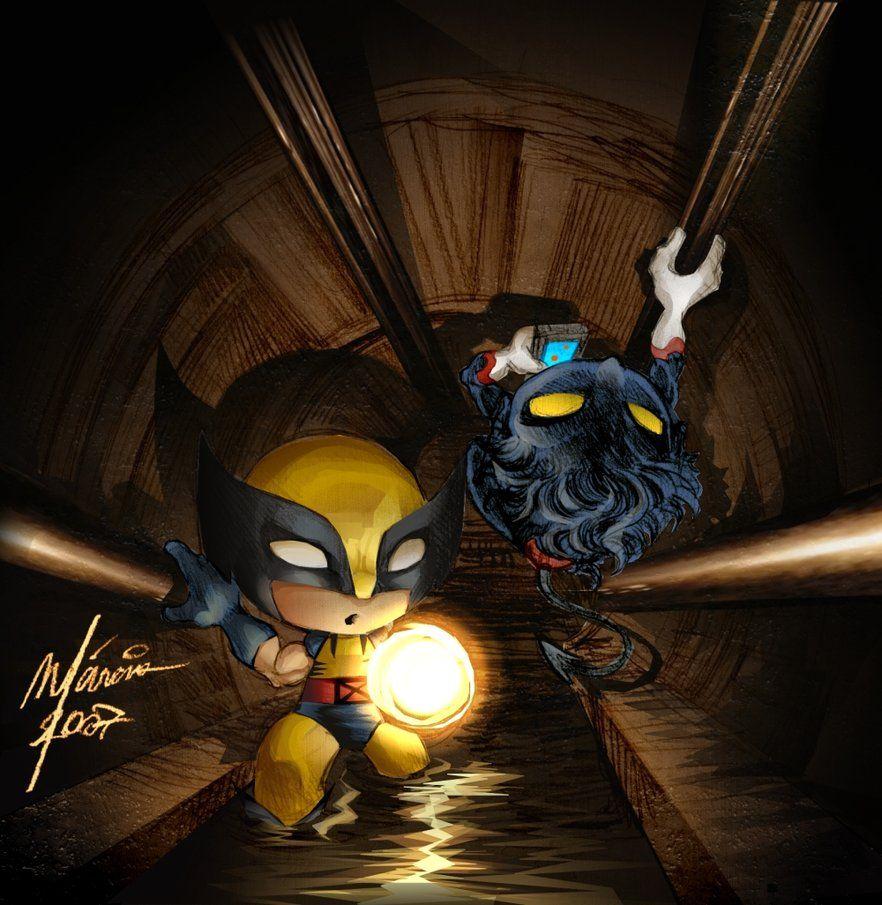 Wolverine - Nightcrawler by ~Corsariomarcio on deviantART ... X Babies Nightcrawler