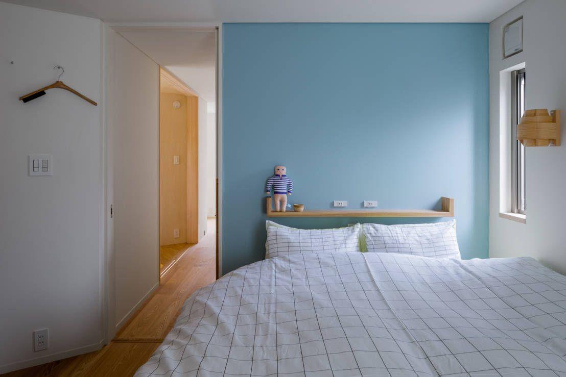 株式会社リオタデザイン の モダンな 寝室 トンガリの家