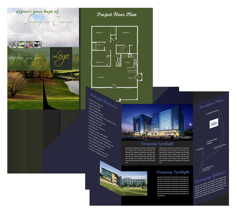 real estate brochure design 76 degree creative