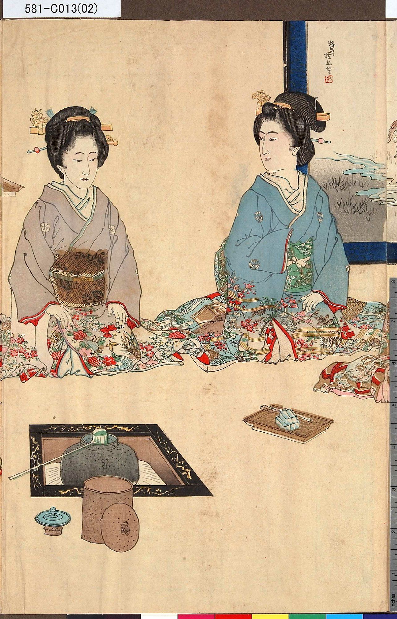 Japanese Tea Ceremony Painting Google Search Japanese Prints Japanese Woodblock Printing Japan Art