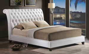 Best Jazmin Tufted Modern Bed With Upholstered Headboard 400 x 300