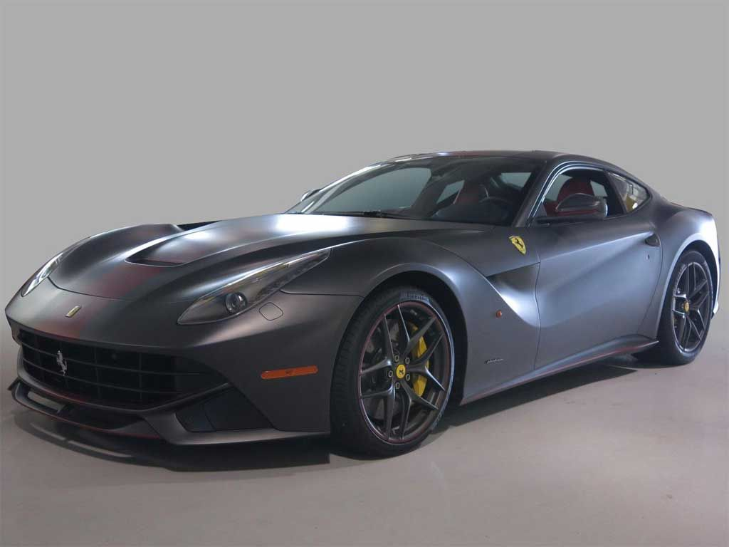 Top 10 Matte Black Cars Autofluence Matte Black Cars Black Car Ferrari F12berlinetta