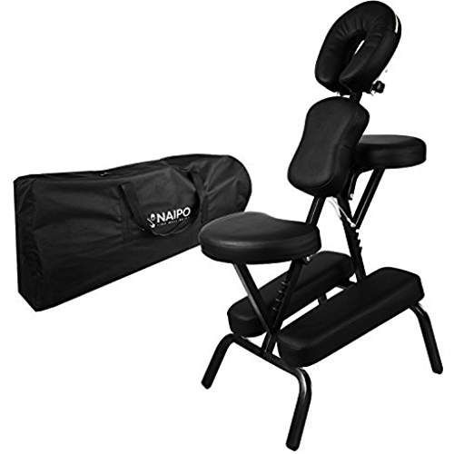 naipo massage chair stool portable foldable therapy chair with free rh pinterest com