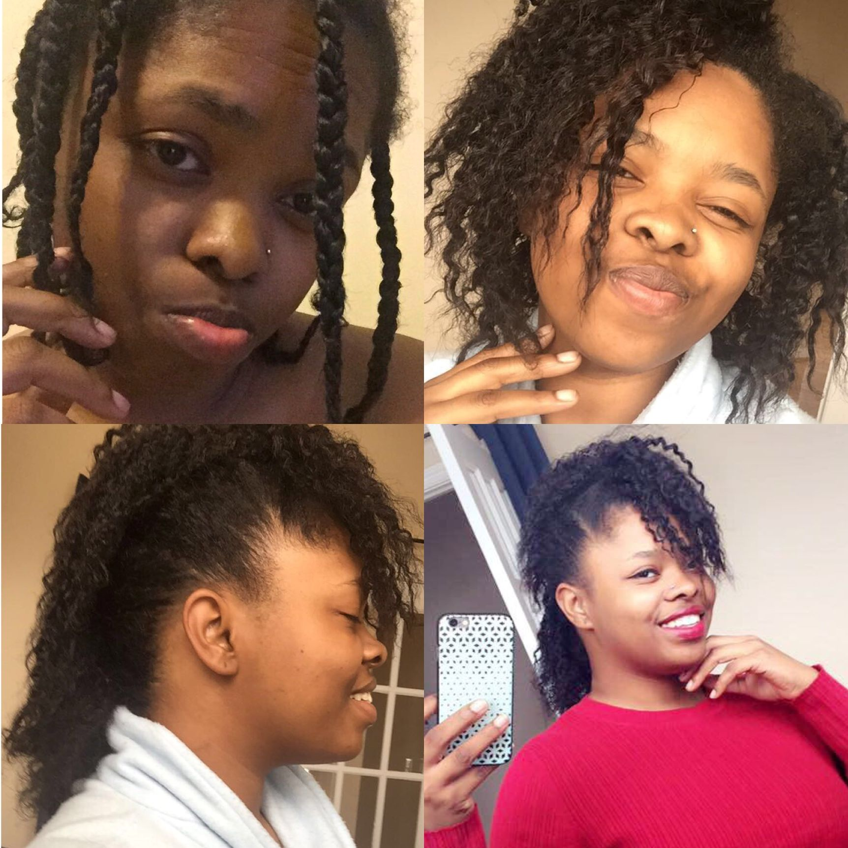 Just pin it natural hair styles ethnic curls hair by pebblesz