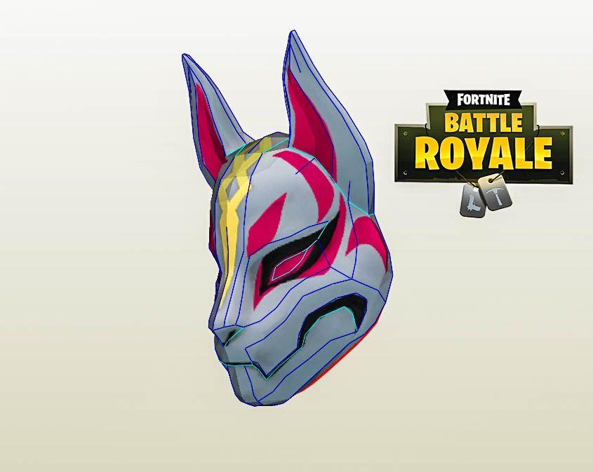 Drift Mask Fortnite Drift Drift Cosplay Fortnite Drift Diy