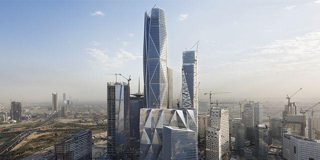 Capital Market Authority Tower Riyadh Saudi Arabia 未来都市 都市 未来