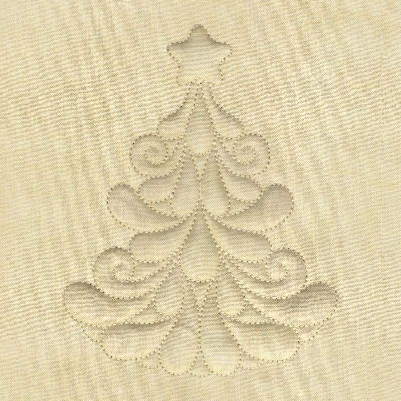 Trapunto Christmas Tree | trapunto | Pinterest | Acolchados, Bordado ...