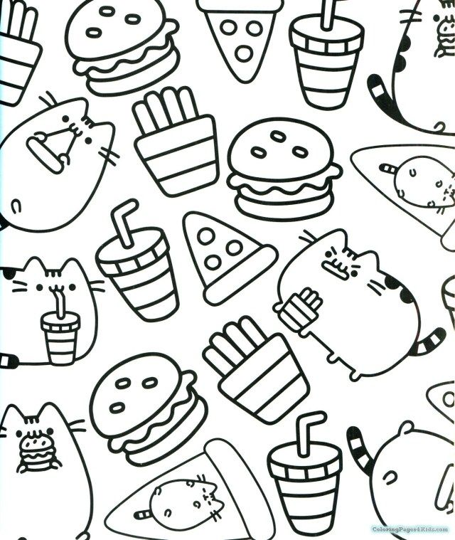25 Inspired Photo Of Pusheen Cat Coloring Pages Entitlementtrap Com Pusheen Coloring Pages Cute Coloring Pages Cat Coloring Book
