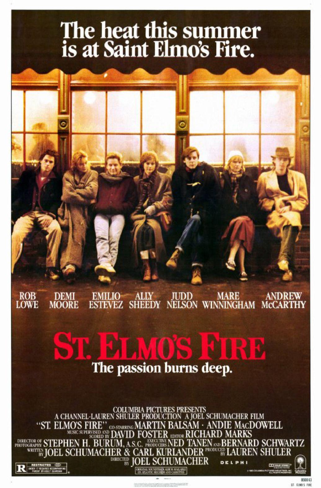 O Primeiro Ano do Resto das Nossas Vidas (St. Elmo's Fire, 1985)
