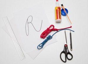 jak vyrobit montessori abecedu