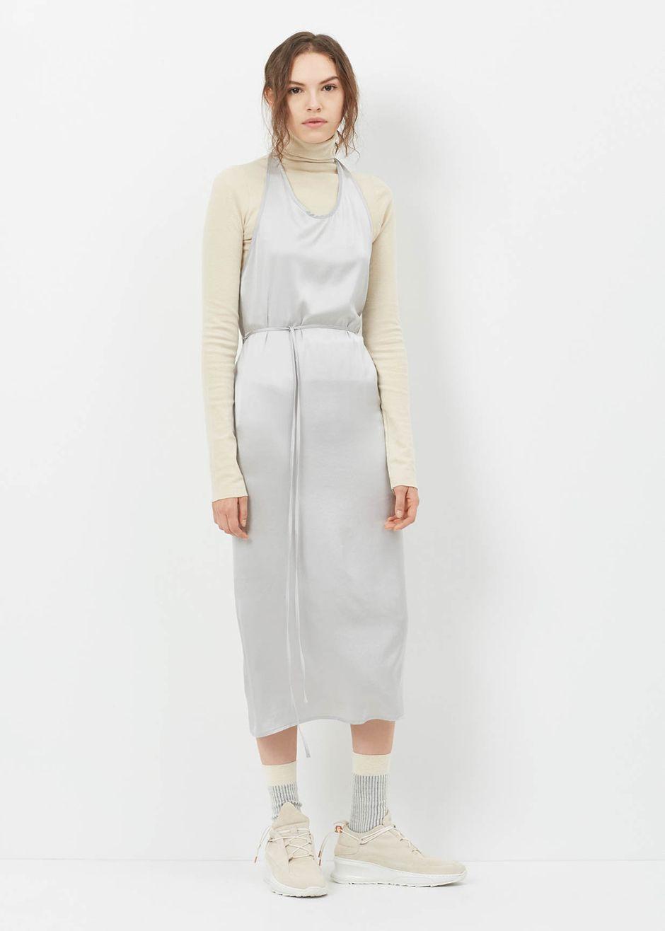 781b6a25fc0 Baserange Apron Dress (Silver)