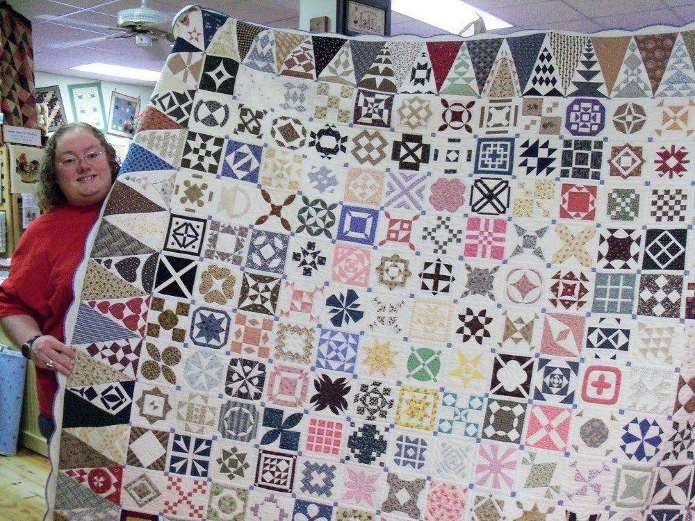 dear jane quilt | Little Quilts Blog: April 2010