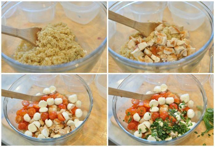 Caprese Quinoa Salad 5