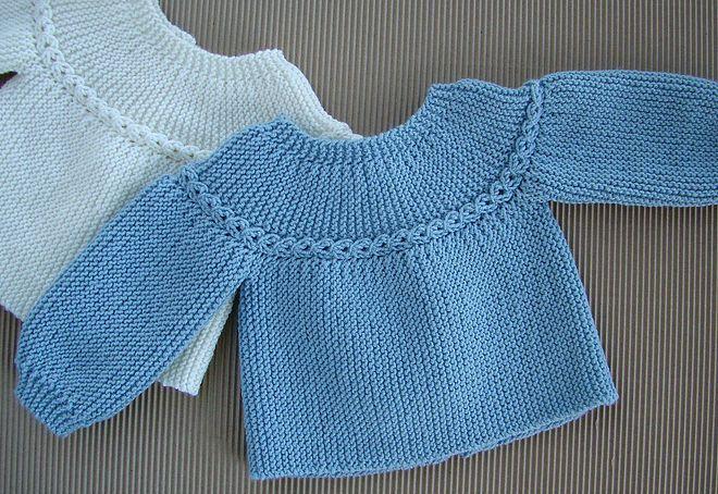 Tutoriales Depunto Dos Agujas Knit Bebé Recien Nacido Newborn Chaqueta Bebe Chaqueta Bebe Punto Ropa Tejida Para Bebe