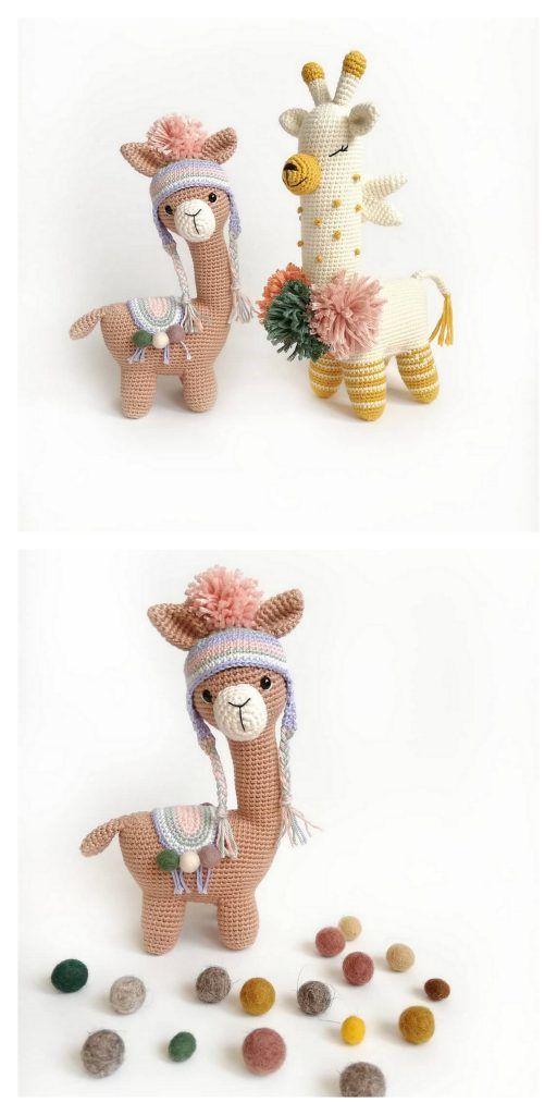 Amigurumi Cute Alpaca Free Pattern – Amigurumi