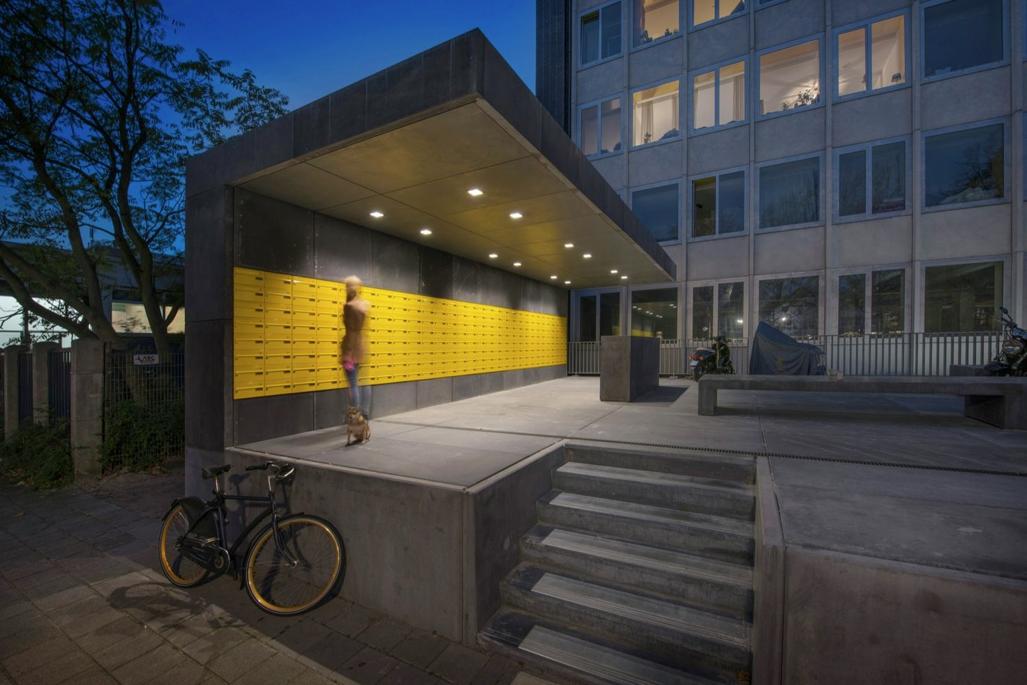 Gallery Of Student Housing In Elsevier Office Building / Knevel Architecten    2