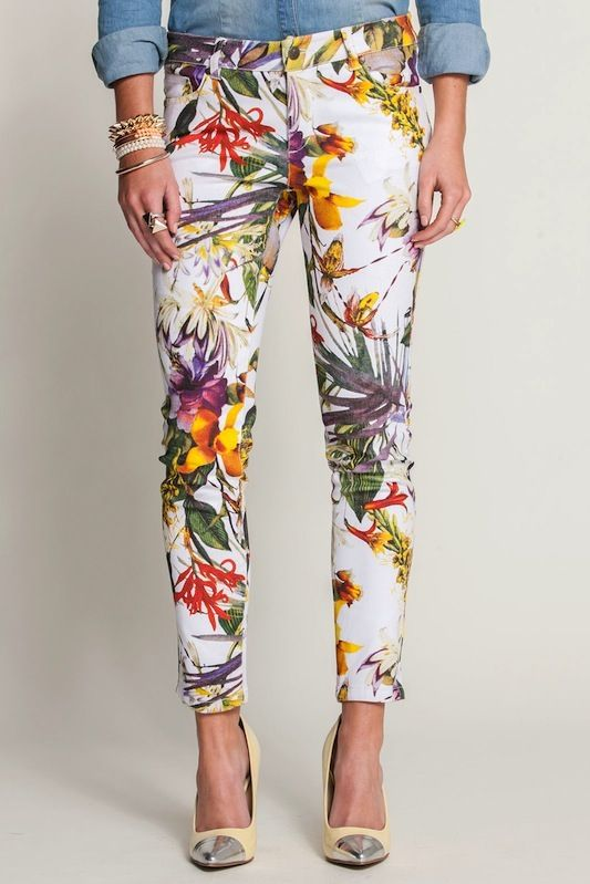 Love those 4 spring! #spring#bright#trousers