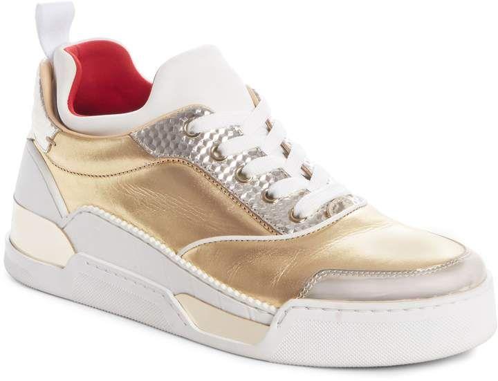 the latest 7d15e aea0b Christian Louboutin Aurelien Donna Sneaker #Louboutin ...