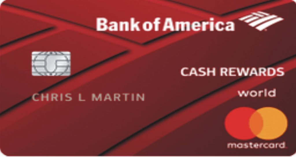 Bank of america cash rewards credit card is the latest