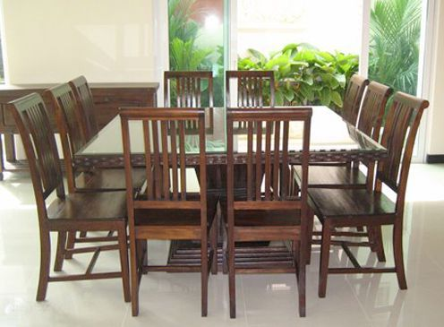 Square dining table for 10 | 10 seater dining table, Square dining tables, 12 seater dining table