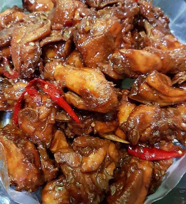 Resep Ayam Kecap Saus Tiram Resep Ayam Makanan Dan Minuman Resep