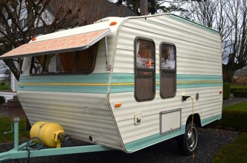 Van Grrrl Small Trailers For Sale Small Trailer Vintage Campers Trailers