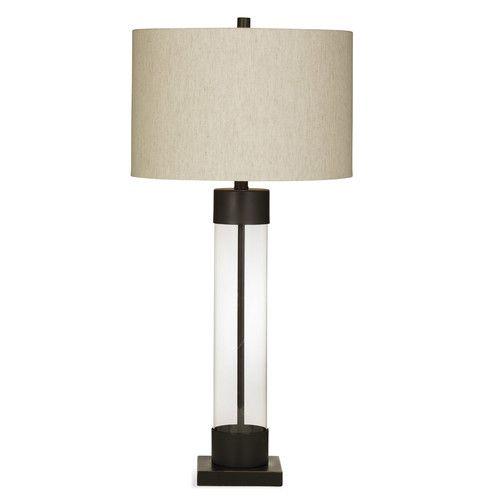 Found It At Joss Main Abreu 33 Table Lamp Metal Table Lamps Glass Table Lamp Lamp