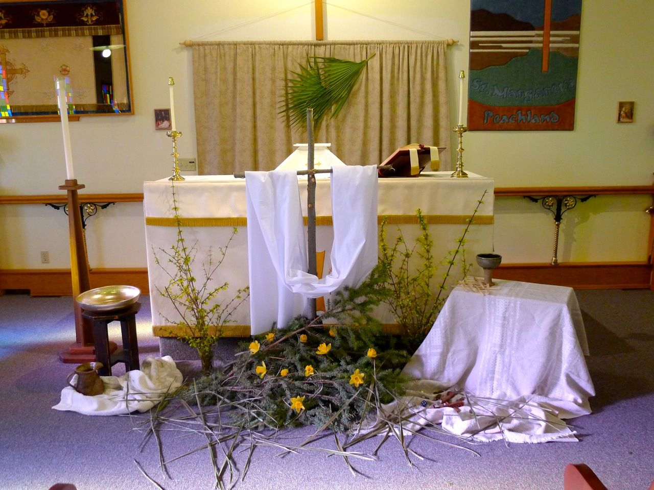 Easter Church Decorations