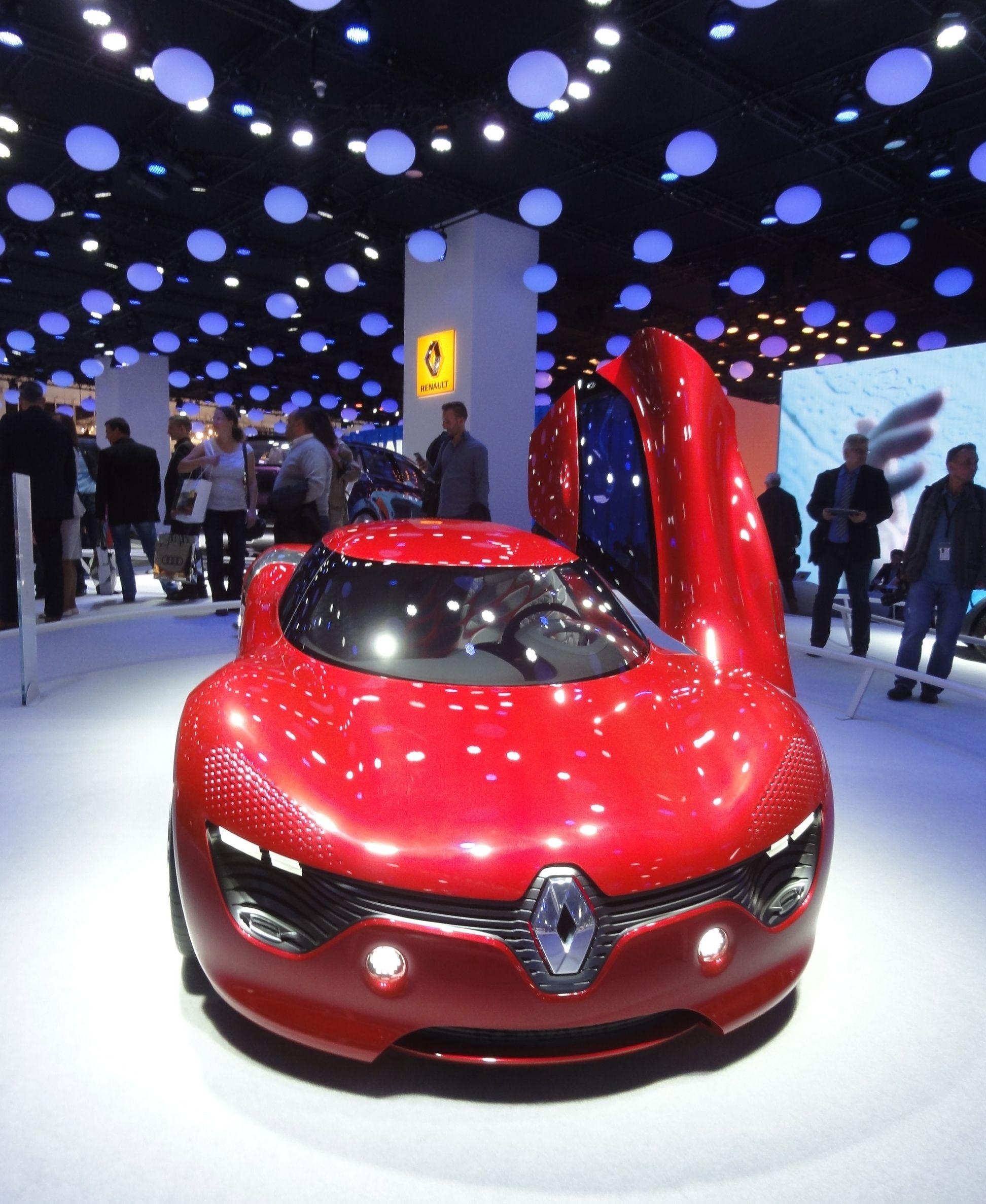 Renault DeZir Concept Car Exhibited At The 2013 Frankfurt