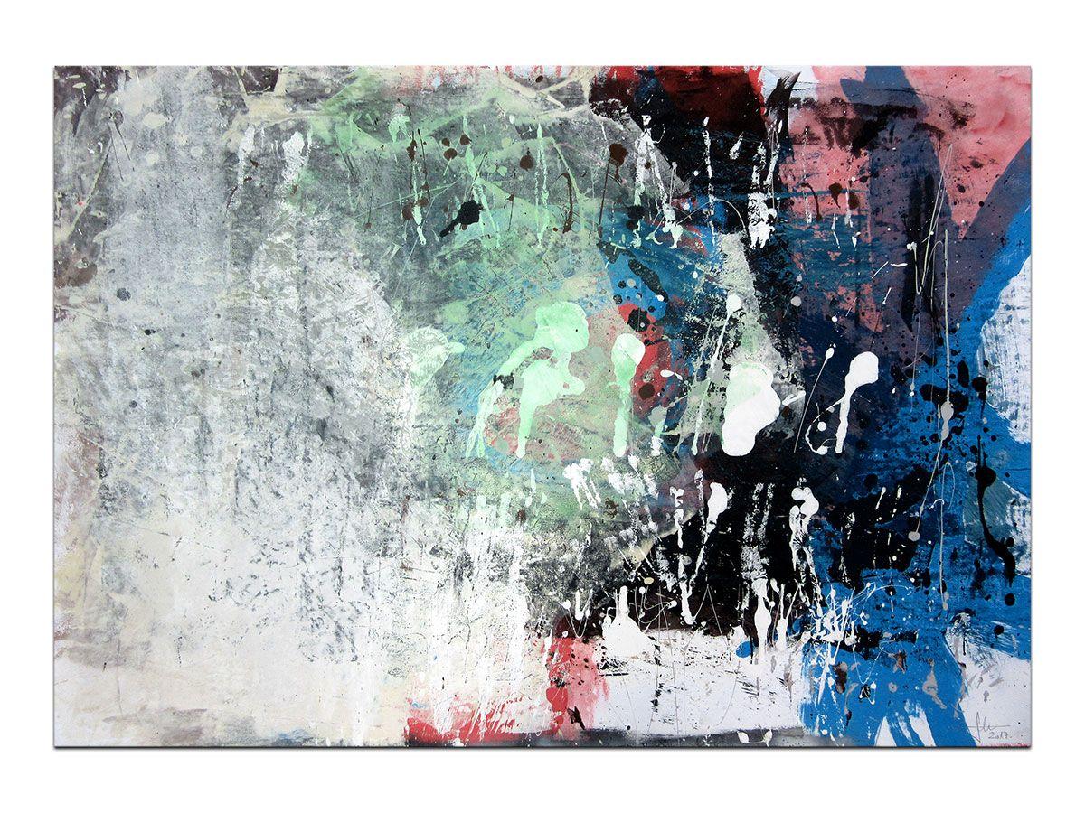 Moderne Slike U Galeriji Mag Apstraktna Slika Oseka Razuma