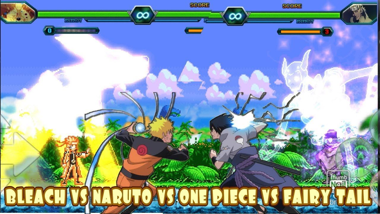 BLEACH VS NARUTO MODDED MUGEN ANDROID [250MB DOWNLOAD] in