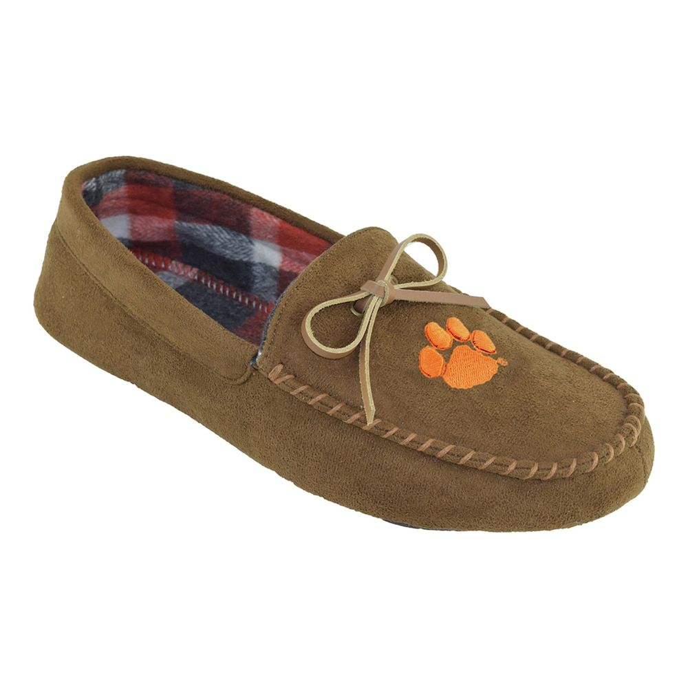 a7cc55e9 Men's Clemson Tigers Moccasin Slippers | Products | Slippers ...