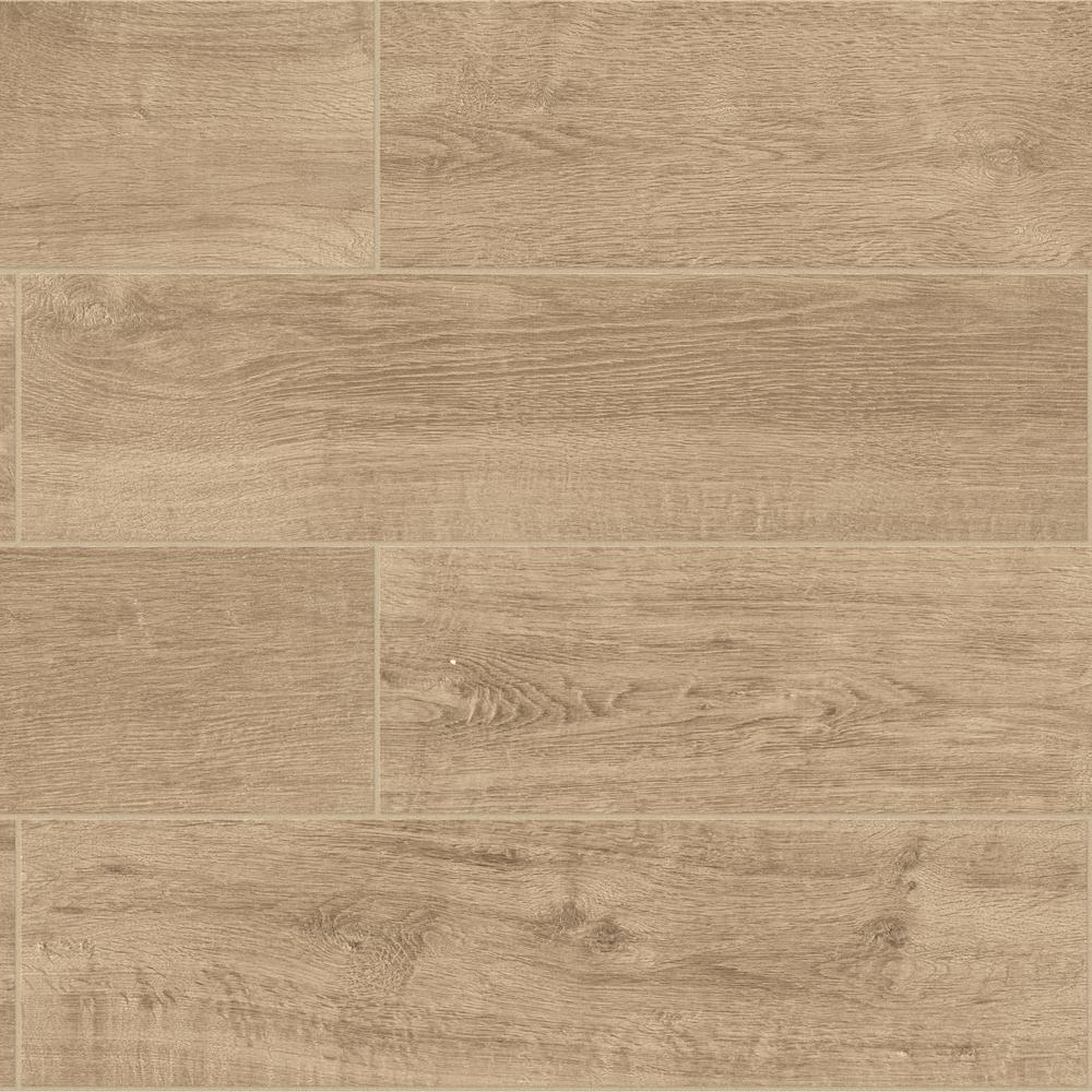 Daltile Meadow Wood Soft Brown 6 In X 24 Glazed Porcelain Floor And Wall Tile 15 Sq Ft Case