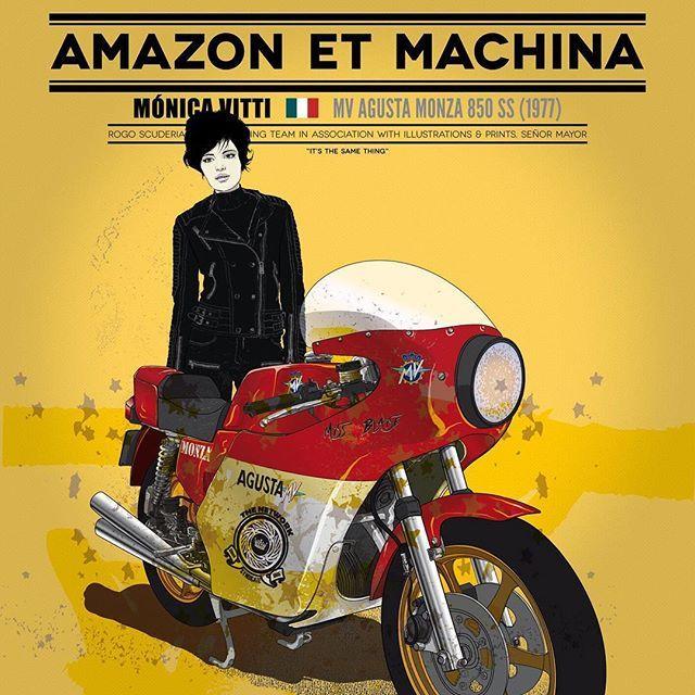 ottonero cafe racer: amazon et machina | moto | pinterest