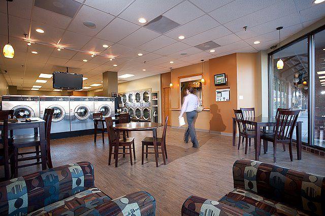 Laundromat Cafe Laundry Shop Laundromat Laundromat Business
