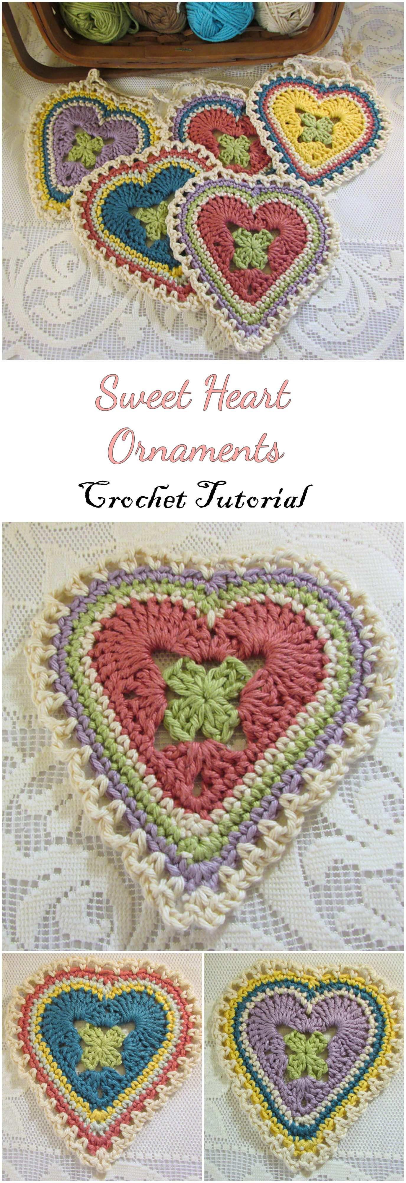 Crochet Sweet hearts | HAND WORK | Pinterest | Ganchillo, Tejido y ...