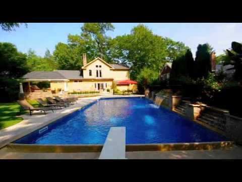 Rectangular Swimming Pool 20x40 With Auto Cover Solar