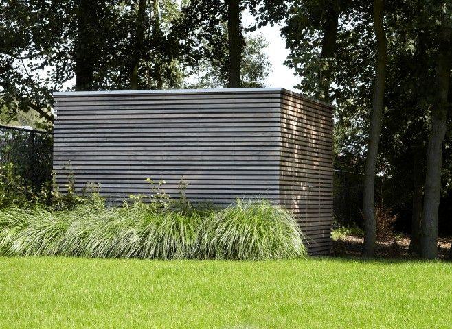 Moderne Tuinbergingen Hout Tuinhuizen Hout Hardhout Strak