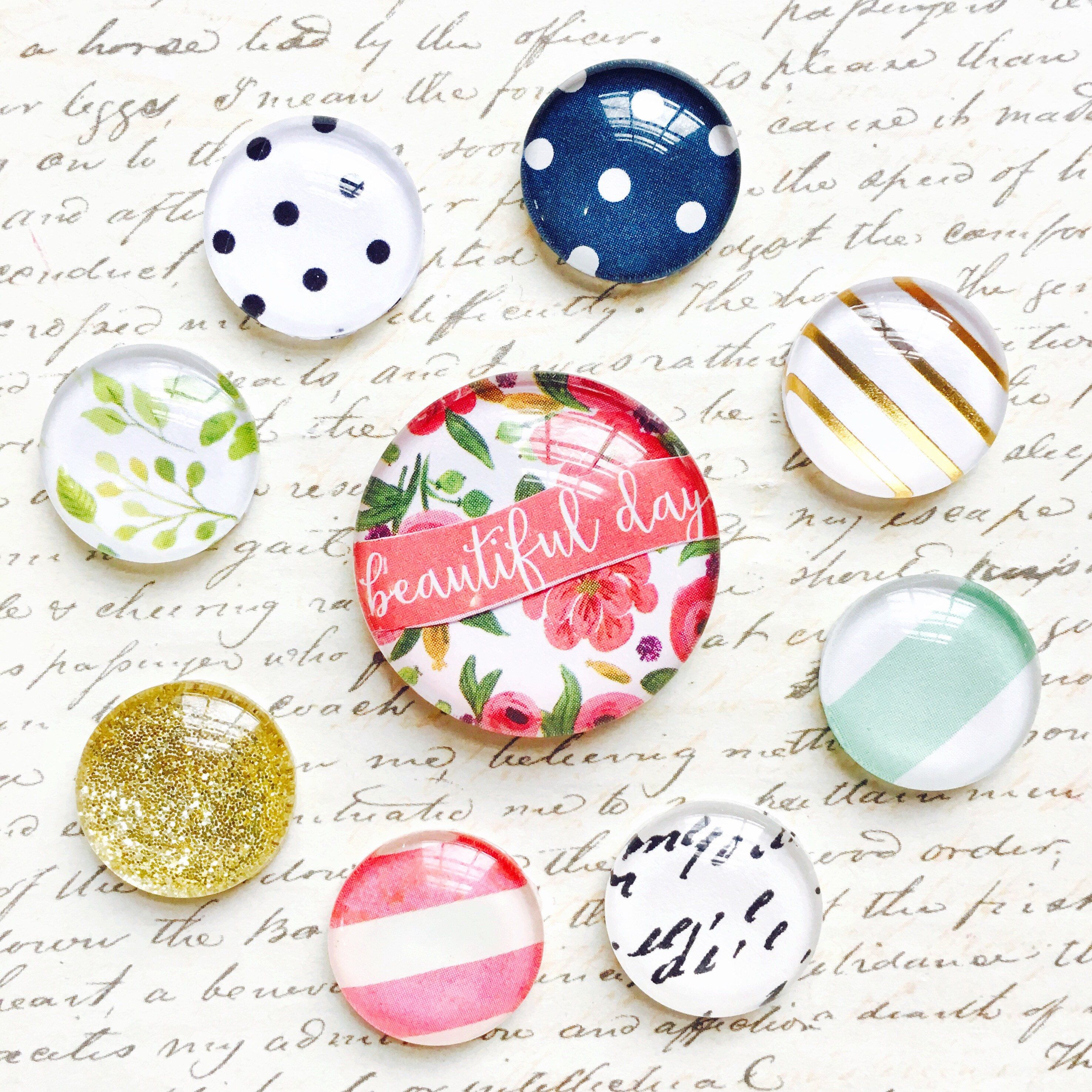 decorative office supplies. Glass Magnets - Deluxe Magnet Set Office Supplies Decorative L