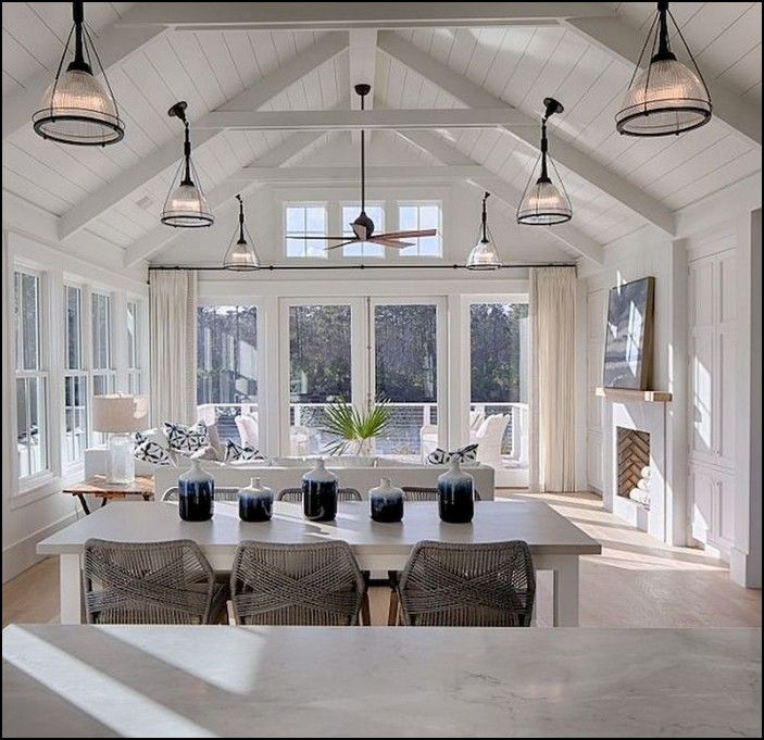 100+ modern lake house living room tour page 20 images
