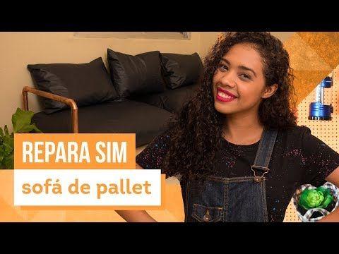 Como fazer um sofá de pallet? Aprenda com Paloma Cipriano ...
