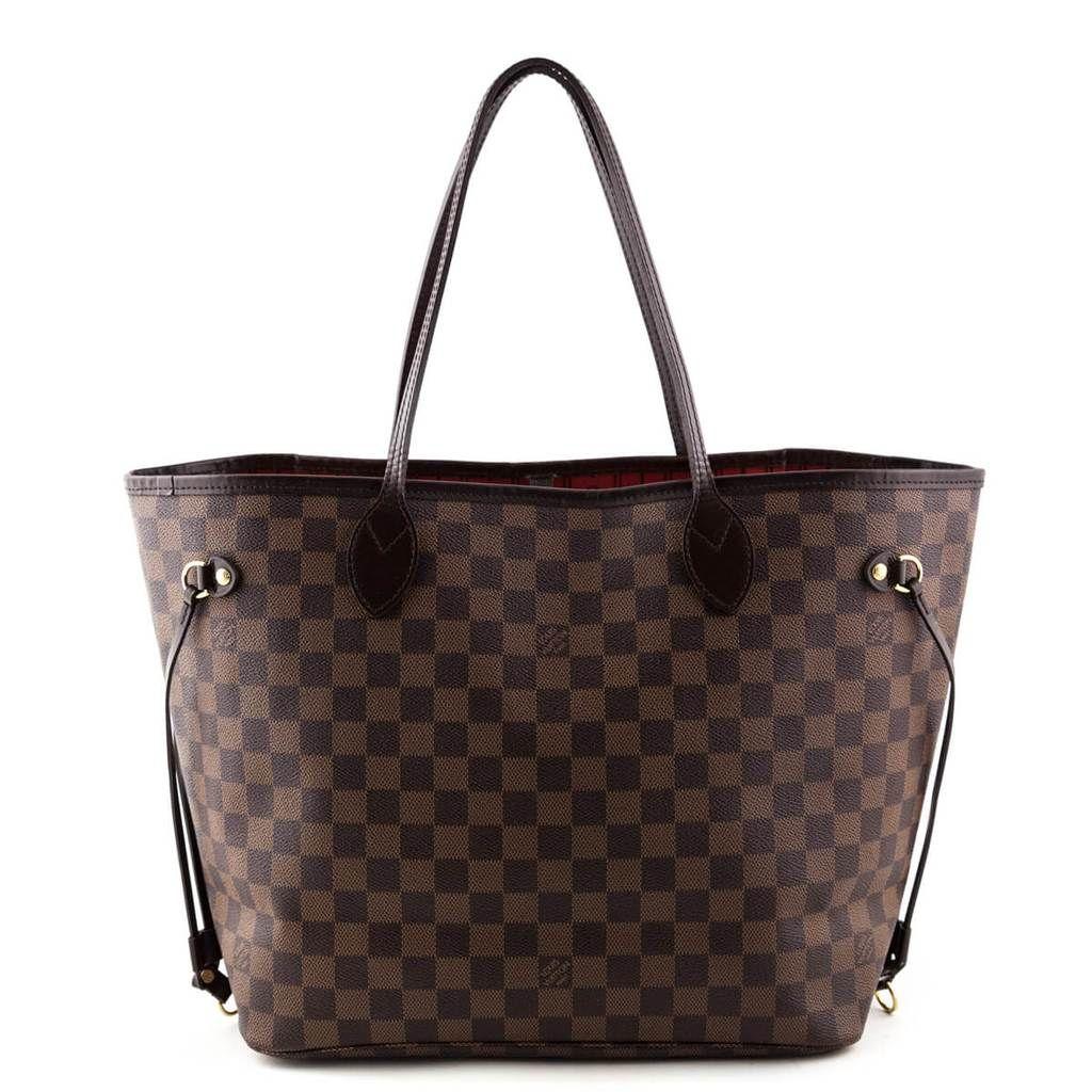 Louis Vuitton Damier Ebene Neverfull MM LOVE that BAG